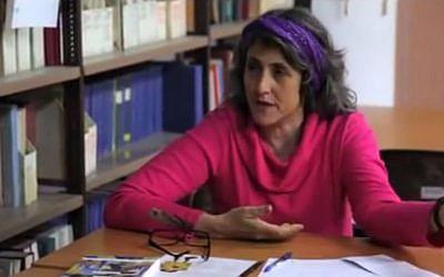 Dr. Einat Ramon, founder of spiritual care training program Marpeh at the Schechter Institute, no longer regards herself as a rabbi. (YouTube screenshot)
