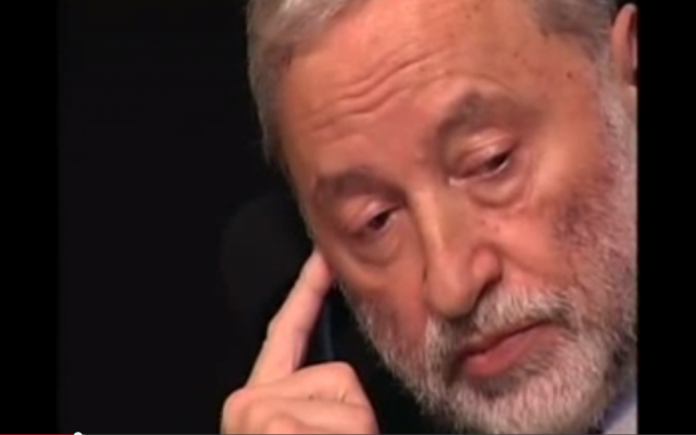 Joseph Zissels (screen capture: YIVO Institute for Jewish Research/YouTube)