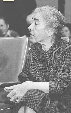 Marie Jalowicz aged 62. (courtesy)