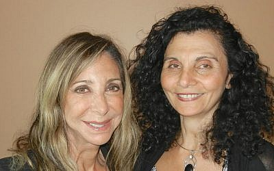 Co-directors of The Tectonic Leadership Center, Jewish fashionista Brenda Naomi Rosenberg and Muslim scientist Samia Moustapha Bahsoun are now soul sisters. (courtesy)