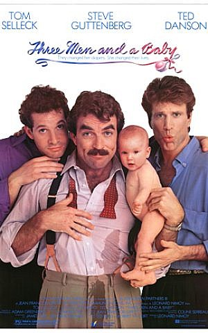 Leonard Nimoy directed the hit 'Three Men and a Baby.' (courtesy)