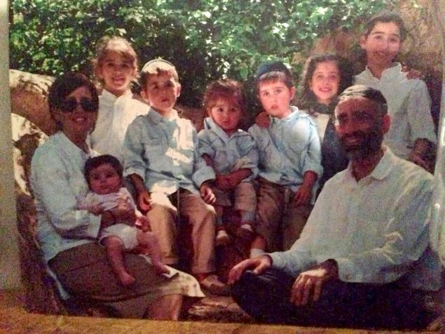The Sassoon family. Seven of the eight siblings perished when a fire broke out in the family's Brooklyn home early Saturday morning, March 21, 2015. (photo credit: Courtesy)