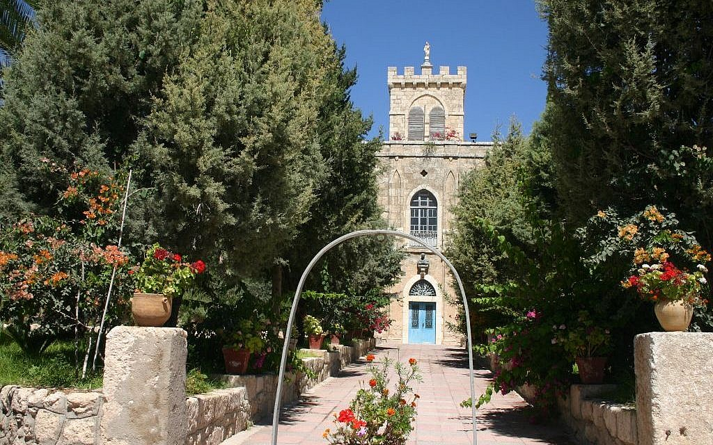 The monastery at Beit Jamal (photo credit: Shmuel Bar-Am)