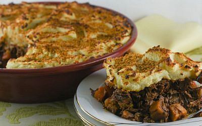 This classic British meat pie can be made in stages and is a perfect hearty Passover main. (Tami Ganeles-Weiser/JTA)