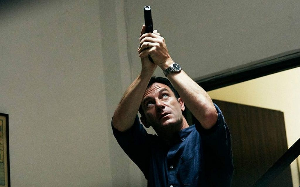 Jason Isaacs stars as Peter Connelly in the USA Network show 'Dig,' which was partially filmed in Jerusalem (NBC Universal/JTA)
