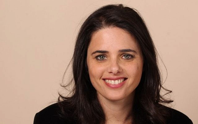 Ayelet Shaked (Flash90)