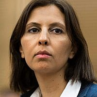 Minister for Social equality Gila Gamliel (Likud) (Flash90)