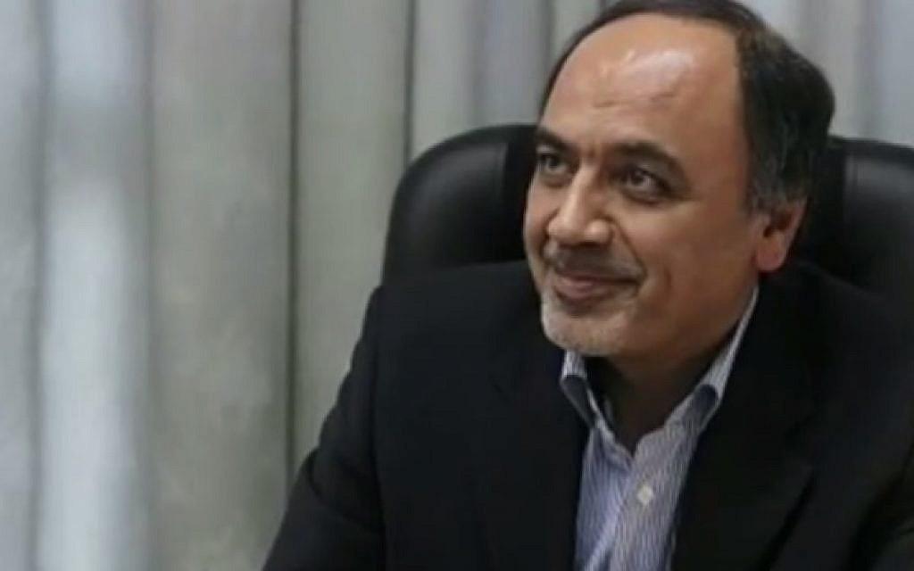 Iranian official Hamid Aboutalebi (photo credit: YouTube screenshot)