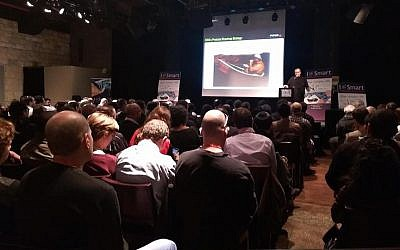 The iSmart 2015 Internet of Things event in Jerusalem, February 24, 2015 (Courtesy)