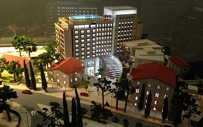 A rendering of the Isrotel hotel and apartment complex. (photo credit: courtesy)