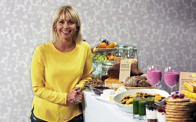 Swedish television chef Tina Nordstrom. (screen capture: YouTube/Västerås Nöje)