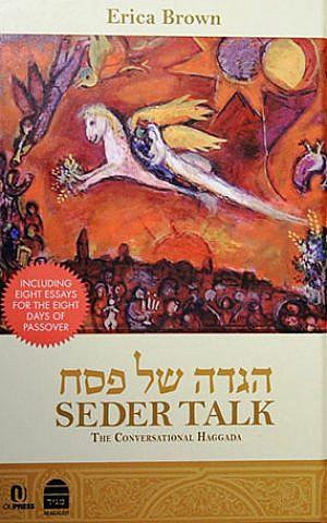 It's all about conversation in 'Seder Talk.' (Koren/JTA)