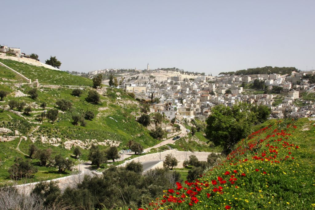 Silwan viewed from the Jerusalem Trail (Photo credit: Shmuel Bar-Am)