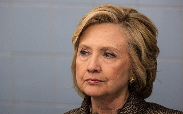Hillary Clinton, April 1, 2015 in New York City. (Andrew Burton/Getty Images/AFP)