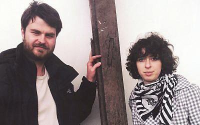 Mi Polin founders Helena Czernek, 29, a designer, and Alexander Prugar, 30, a photojournalist. (courtesy)