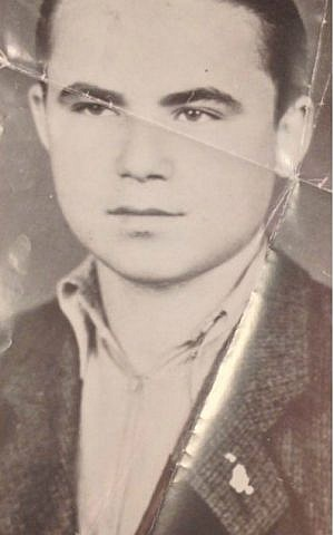 Michael Blain (Elimelech Blobstein) as a teenager in Hungary during the Holocaust. (photo credit: courtesy)