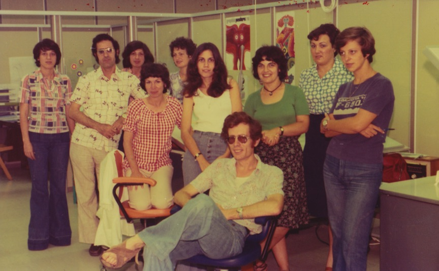 Intel employees, circa late 1970s (Photo credit: Intel)