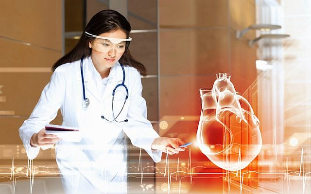 Using InfinityAR's platform, the company says, developers will be able to create devices and applications to enhance medical and educational technology (Photo credit: Courtesy)