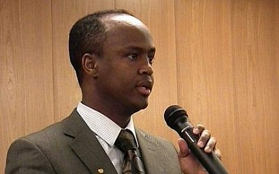 Finnish politician Abdirahim Hussein (photo credit: Wikimedia Commons/Tallentanut Dogah/CC BY 3.0)