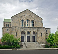 Baltimore's Beth Am synagogue (photo credit: Courtesy)