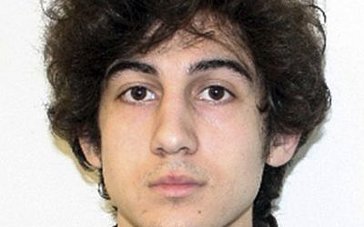 Undated file photo provided by the Federal Bureau of Investigation shows Dzhokhar Tsarnaev, charged in the Boston Marathon bombing. (photo credit: AP/FBI, File)