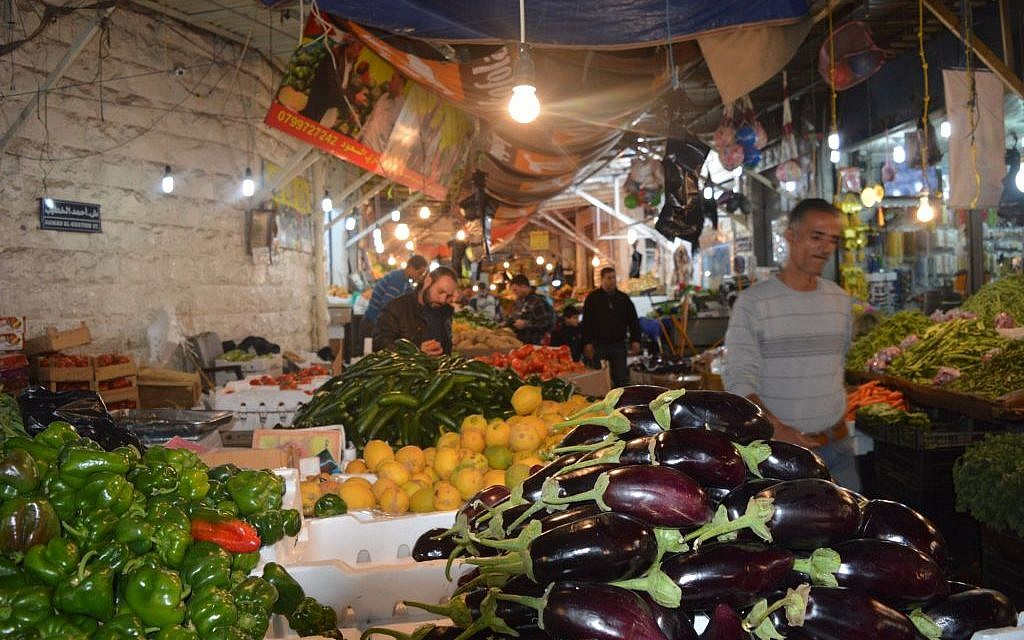 The souq in Amman, March 26, 2015 (photo credit: Avi Lewis/Times of Israel, Benyamin Loudmer)