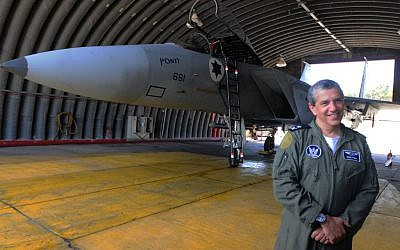 Amir Eshel, the commander of the Israel Air Force. (Photo credit: Yossi Zeliger / Flash 90)