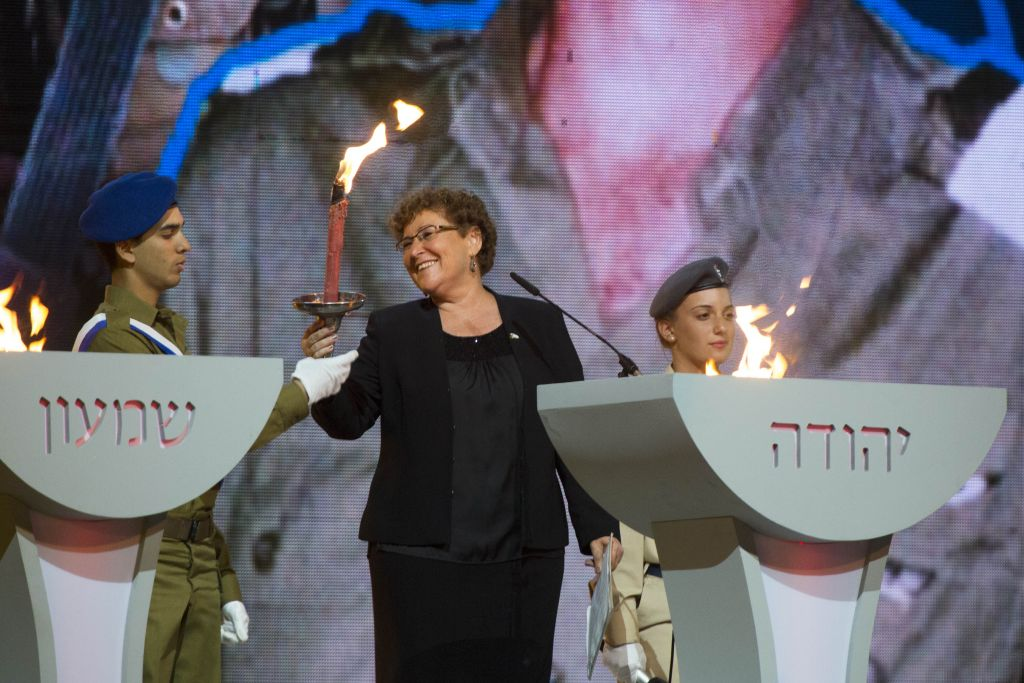 In First Diaspora Jew To Light Israel Independence Day Torch The