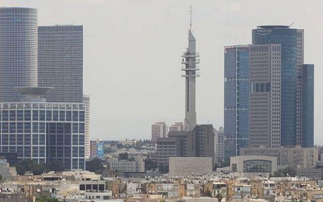 A view of IDF headquarters in Tel Aviv. (Miriam Alster/Flash90)