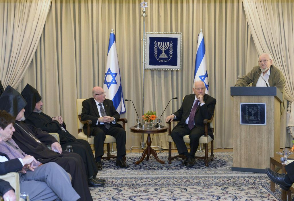 In marking Armenian tragedy, Rivlin skirts term 'genocide'   The