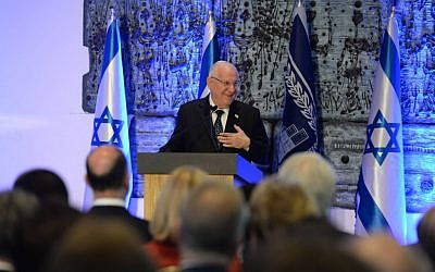 President Rivlin hosts Independence Day reception for members of the foreign diplomatic corps stationed in Israel,  April 23, 2015 (photo credit: Mark Neyman/GPO)