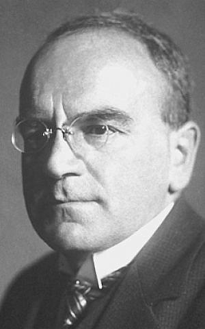 Heinrich Otto Wieland (photo credit: Nobel Foundation /Wikipedia)
