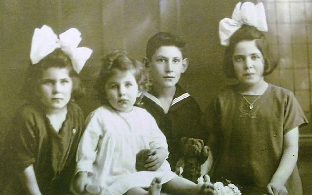 The Polak children (from left): Betty, Liesje, Jaap and Juul. All but Juul survived the Holocaust. (Courtesy)