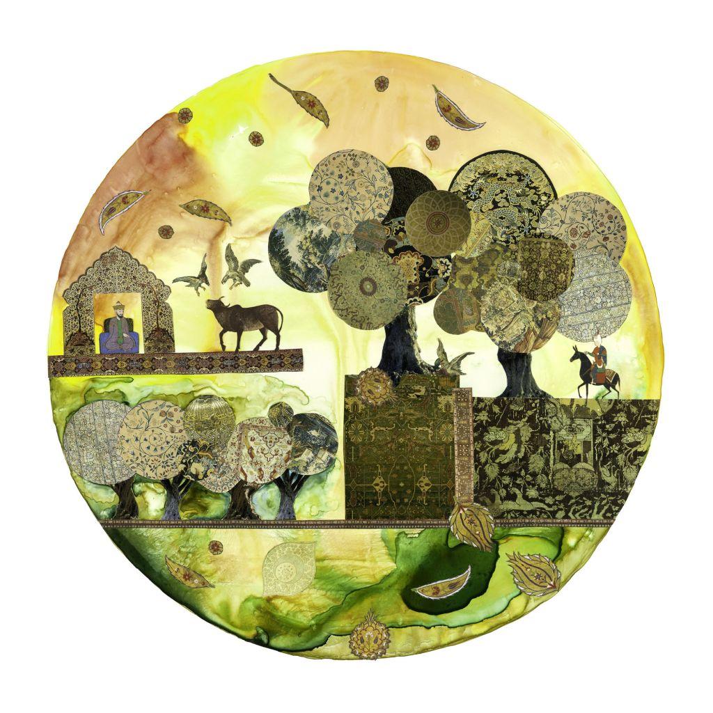 'In the olive grove', by Andi Arnovitz (Courtesy Andi Arnovitz)