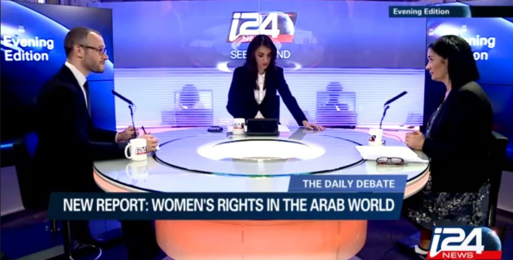 Israeli TV network i24 starts broadcasting    to Israel