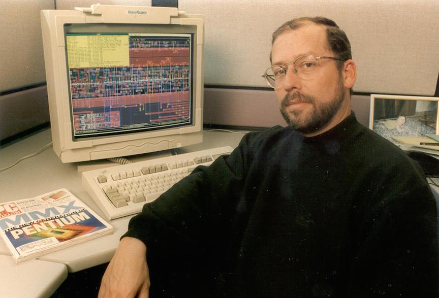 Mooly Eden, circa 1997 (Photo credit: Intel)