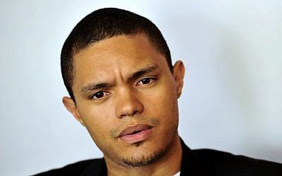 In this photo taken Oct. 27 2009 South African comedian Trevor Noah is photographed during an interview. (Photo credit: AP/Bongiwe Mchunu-The Star)