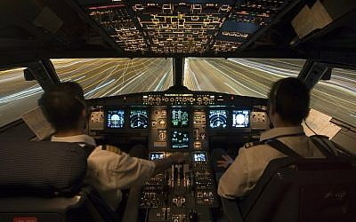 Illustrative: An Airbus A321 cockpit. (Ercan Karakas/GNU free/Wikipedia)