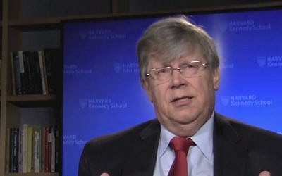 Former IAEA deputy director Olli Heinonen (photo credit:  YouTube screenshot)