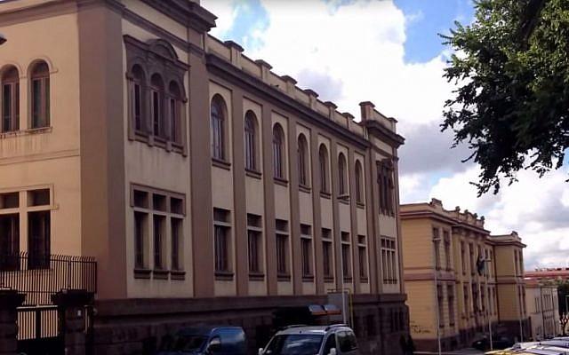 Illustrative photo of the city of Sassari, Italy (screen capture: YouTube)