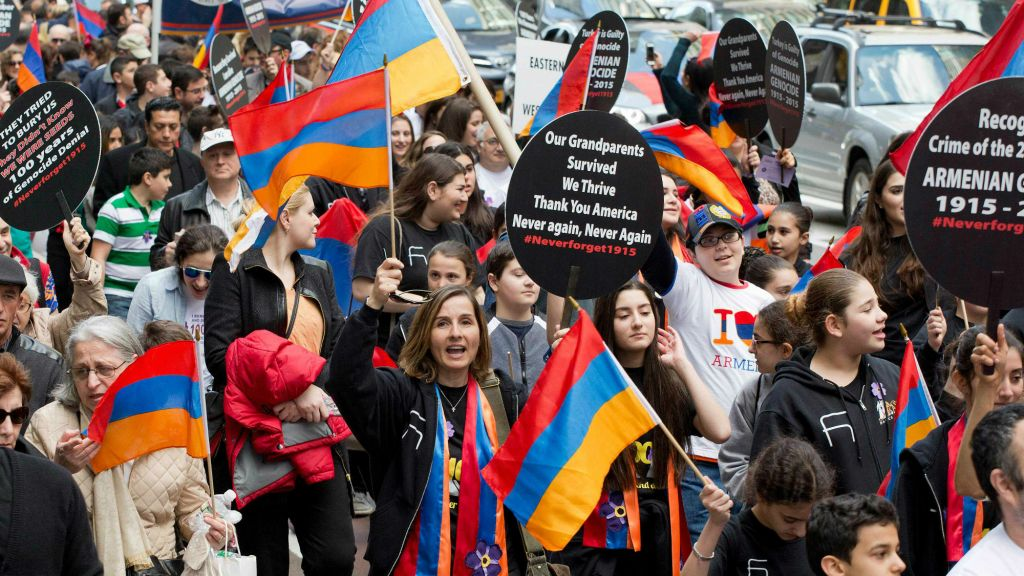 centenary of 1 5 million armenian deaths marked in nyc the times