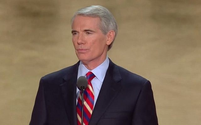 US Senator Rob Portman (R-Ohio) (Photo credit: YouTube screen capture)