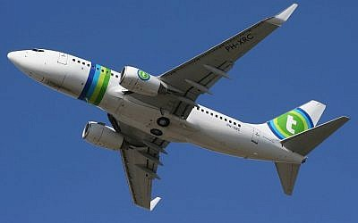 A Transavia plane (photo credit: Courtesy)