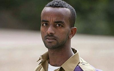Chalachew Mekonen, a former Givati Brigade soldier of Ethiopian descent highly decorated for bravery during Operation Protective Edge. (photo credit: Facebook)