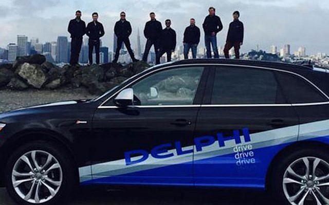 The Delphi Roadrunner driverless vehicle (Photo credit: Courtesy)