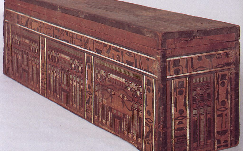 Egyptian coffin (Photo credit: Courtesy of the Jerusalem Bible Lands Museum)