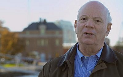 US Senator Ben Cardin (D-Maryland) in a file photo (Photo credit: YouTube screen capture)