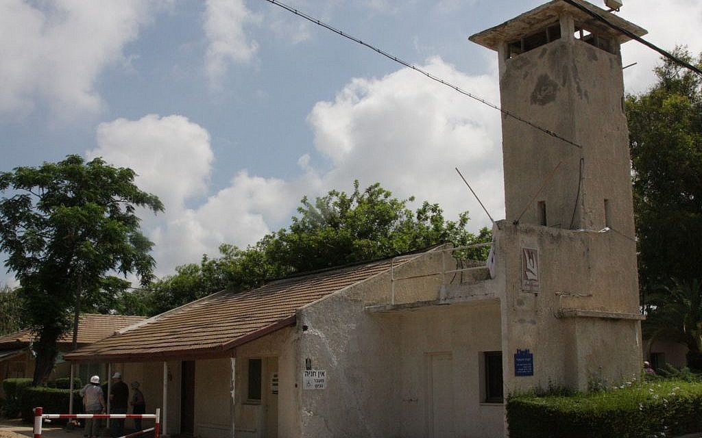 The first building at Moshav Shavei Zion (photo credit: Shmuel Bar-Am)