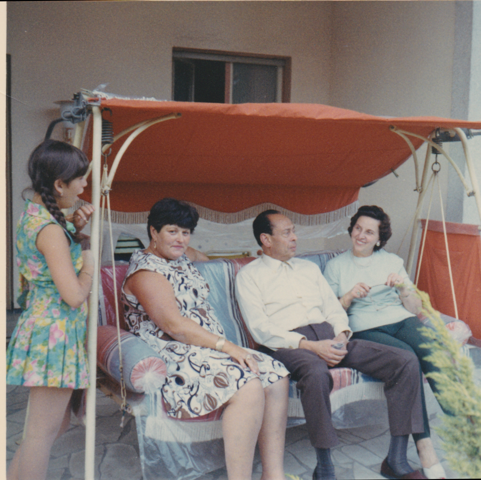 Righteous Among the Nations Dr. Mohamed Helmy and Anna Boros Gutman (courtesy Yad Vashem)