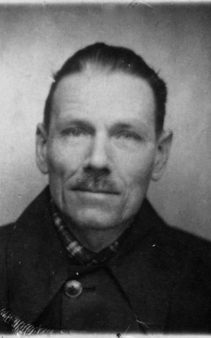 Koos Wever's grandfather, xxx xx, who hid a Jewish family and was sent to Bergen Belsen (Courtesy Koos Wever)